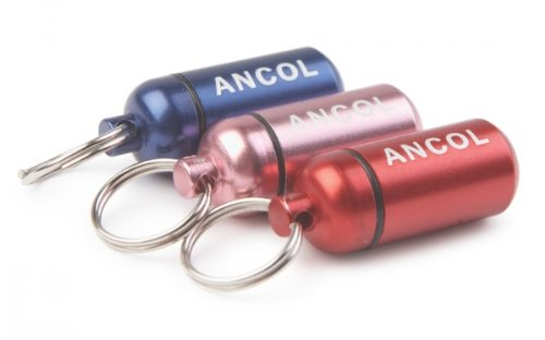 Ancol Simply Glamour Aluminium Id Tube Assorted(Colors will vary)