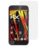 atFolix Schutzfolie kompatibel mit Shift 6m Bildschirmschutzfolie, HD-Entspiegelung FX Folie (3X)