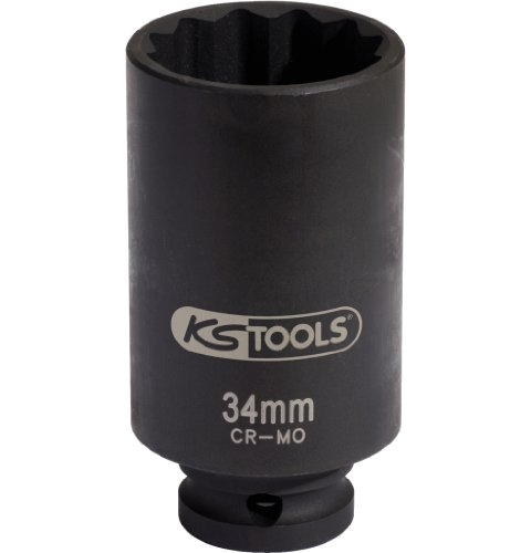 "Preisvergleich Produktbild KS Tools 150.1704 1/2"" Spezial-Gelenkwellen-Kraft-Stecknuss, 34mm"