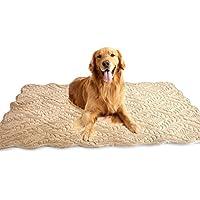 Pet Nest Oversized Pet Mat Cojín para perro Cojín para mascota bordado Alfombra grande para perro