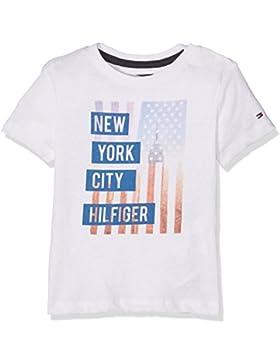 Tommy Hilfiger Jungen T-Shirt Ame Photoprint Cn Tee S/S