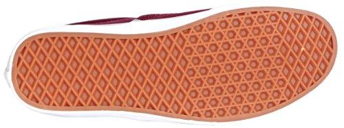 Vans U Era 59 C L, Unisex-Erwachsene Sneakers Rot (port Royale/multi Stripe)