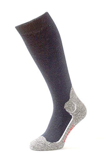 Miribung calze da trekking comfort-plus - ideale per chi ama la lana - traspiranti, termoisolanti, confortevoli | qualità alpina made in alto adige | 450-a-44-46