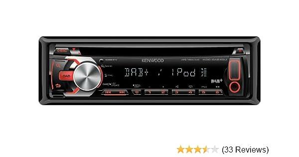 Kenwood KDC-DAB41U Autoradio schwarz: Amazon.de: Elektronik