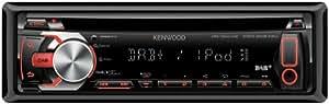 Kenwood KDC-DAB41U Autoradio 200 W (CD, Tuner, DAB, iPod/iPhone, USB 2.0), nero