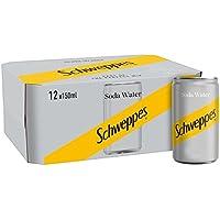 Schweppes agua de soda mini latas de 12 x 150ml