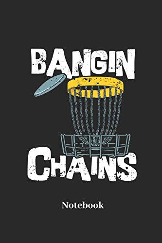 Bangin Chains Notebook: Lined journal for game and sport fans - paperback, diary gift for men, women and children Web-iron Cross
