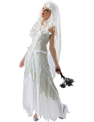 Costume halloween da sposa fantasma small