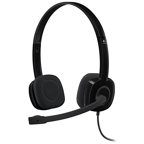 Logitech H151 On-ear Noise Canceling Black