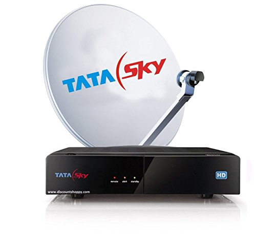 Tata Sky HD Set Top Box With 1 Month Free Dhamaka Pack