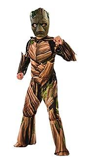 Rubie's - Costume de luxe officiel Groot (du film « Avengers : Infinity Wars ») pour enfant