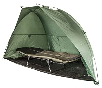 Large Fishing Shelter/Bivvy With Detachable Ground Sheet Pegs & Ropes from OAKWOOD
