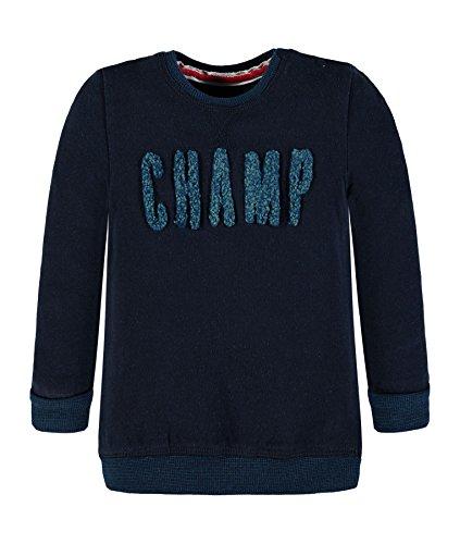 Kanz Jungen Sweatshirt 1723451, Blau (Navy Blazer 3105), 104 (Strickjacke Baumwolle Herrliche)