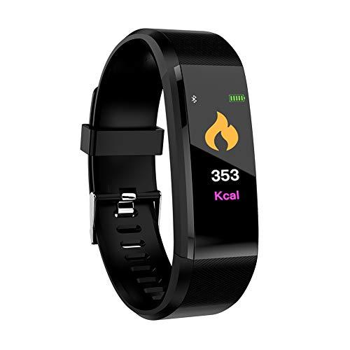 Photo Gallery gmacce fitness tracker hr, activity tracker orologio con cardiofrequenzimetro, fascia impermeabile smart fitness con contapassi, contacalorie
