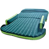 Zoiibuy SUV Air Mattress Double Bed Portable Thicker Car Bed for Outdoor Self-driving Travel, Including Electric Air Pump