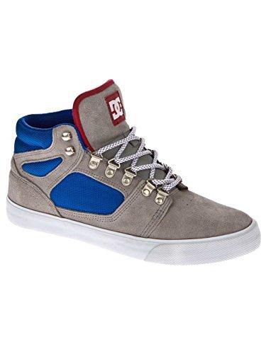 DC Reset Hi LE Shoe, Assemblée Chaussures Grau - wild dove/white