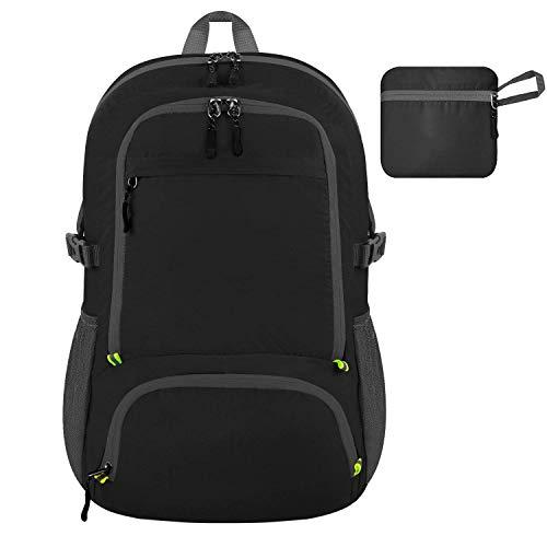 RMXMY Ultraleichter, packbarer Rucksack, wasserdichter Wanderrucksack, Kleiner Rucksack, handlicher Faltbarer Reise-Outdoor-Rucksack