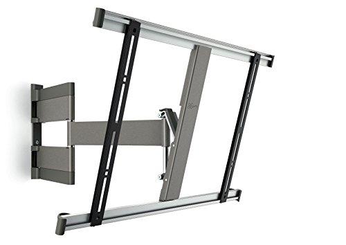 Vogel's THIN 345 TV-Wandhalterung für 102-165 cm (40-65 Zoll) Fernseher, 180° Vogel's Wandhalterung schwenkbar und neigbar, max. 25 kg, Vesa max. 600 x 400, grau