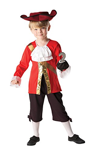 Kind 's Disney Alice in Wonderland Captain Hook – Medium (Peter Pan Kostüm Disney Store)