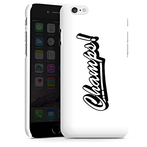 Apple iPhone X Silikon Hülle Case Schutzhülle Proownez Fanartikel Merchandise Champs Premium Case matt