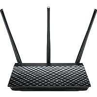 Asus RT-AC53 AC750 802.11ac WLAN Dual-Band Gigabit Router (Gastnetzwerke, AiRadar, App Steuerung)