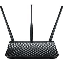 Asus RT-AC53 Router (WiFi 5 AC750 MIMO, 2x Gigabit LAN, App Steuerung, DFS, IPv6, VPN)
