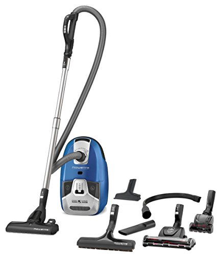 Rowenta RO6391EA Silence Force Compact 4A Full Care Bodenstaubsauger (sehr leise, 3,5 Liter) blau