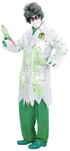 Imagen de widman  disfraz de científico loco para hombre, talla l s/98933  alternativa