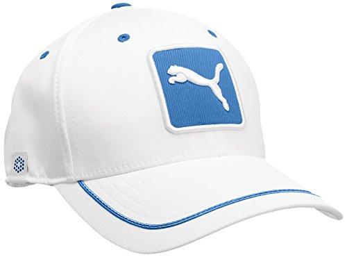 Puma Cat Patch Casquette de golf Homme Blanc/Bleu FR : Taille unique (Taille Fabricant : OSFA)