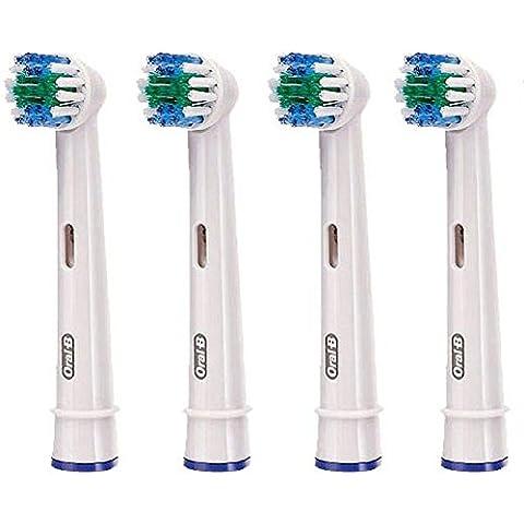Braun Oral B EB20 - 4 teste per spazzolino, pulizia