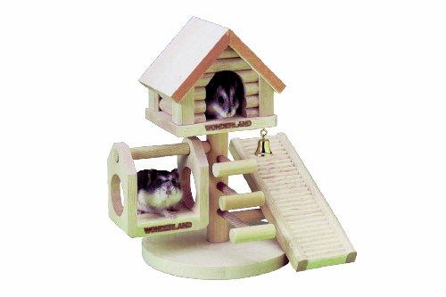 Karlie Maison en bois pour hamster Wonderland