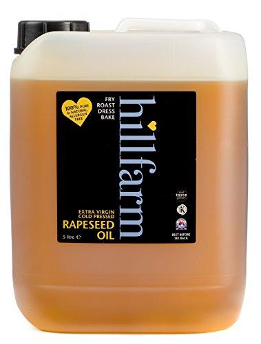 Hillfarm Oils - Rapsöl, nativ/kaltgepresst, 5 Liter