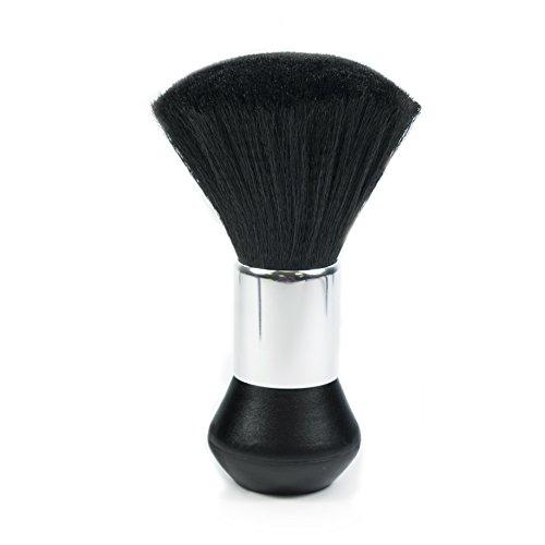 TRIXES Pennello Parrucchiere - Pennello Collo per Parrucchieri, Salone, Barbiere - per Togliere i Residui di Capelli