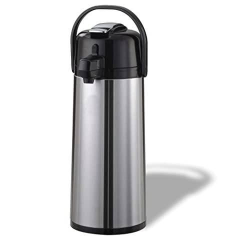 Stainless Steel Lined Airpot, Lever Pump, 2.4 Liter Capacity