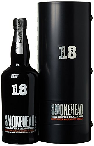 Smokehead Extra Black 18 Years Old mit Geschenkverpackung Whisky (1 x 0.7...