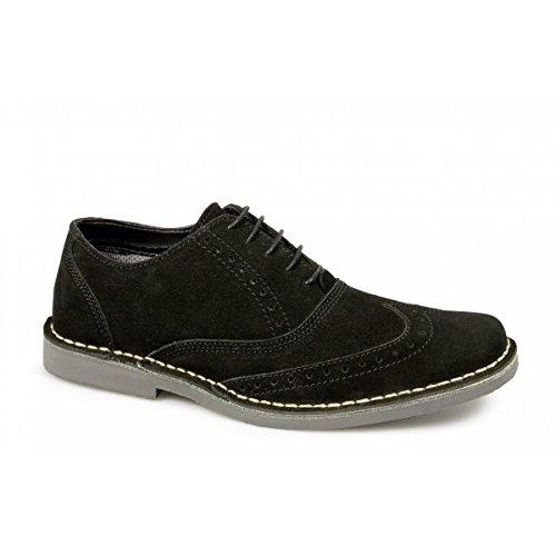 Classic Retro Desert Brouges in Black Mod,Ska, Shoe/boots (10)