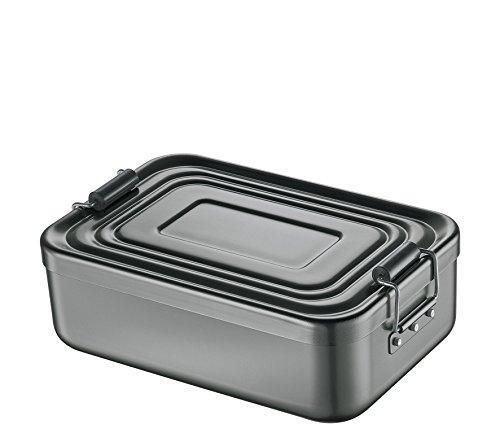 Küchenprofi 1001461318 Lunch Box, klein, Aluminium anthrazit