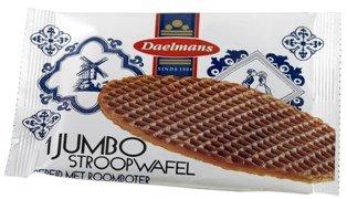 1x HELLMA DAELMANS STROOPWAFEL JUMBO Süßwaren, Nahrungsmittel