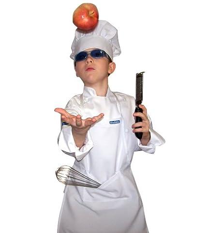 chefskin M Lot (1chef tablier réglable + 1bonnet + 1)