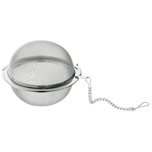 WMF Tee-(Gewürz)sieb Ø 7,5 cm Gourmet Cromargan Edelstahl rostfrei 18/10 poliert spülmaschinengeeignet (18 10 Edelstahl Tee-sieb)