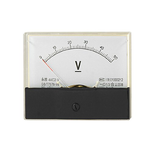 Voltmeter, analog, 0-50v Gleichstrom 50v Analog