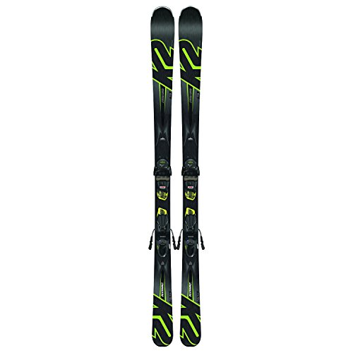 K2 Skis Herren Konic 78 M3 10 Compact Quikclik Set Ski, Black/Yellow, 170 cm