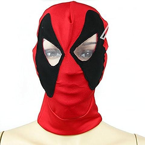 Halloween Costume De Costume Rouge - Spiderman masque-Halloween Masque Cosplay Costume Lycra Spandex