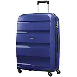 American Tourister Bon Air Spinner L Maletas y trolleys, 75 cm, 91 L, Azul
