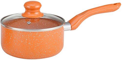 Wonderchef Tangerine Aluminum Sauce Pan, 1.55 Litres/16cm, Orange  available at amazon for Rs.799