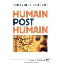 Humain, post-humain