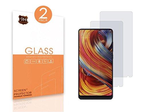 Mejor Protector de Pantalla Xiaomi Mi Mix 2,Cristal Templado