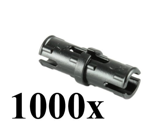 Lego Technic Mindstorm Nxt Black Friction Pin Connector Part 2780 (Quantity 1000 Pcs)