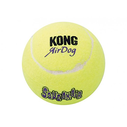 Kong-Air-tre-Small-Breed-Squeaker-tennisb--lle-un-articolo