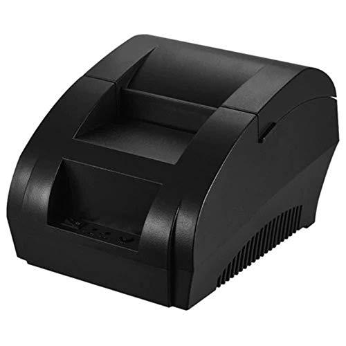 Bürobedarf Bluetooth Thermodrucker Lebensmittel Supermarkt Registrierkasse Fahrkartenautomat Small European Standard 100-240V - Schwarz Druckgerät